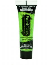 Paint Glow UV Glitter Gel - Green
